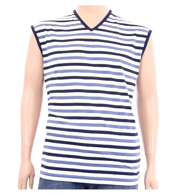 Tričko KAREL - modré proužky