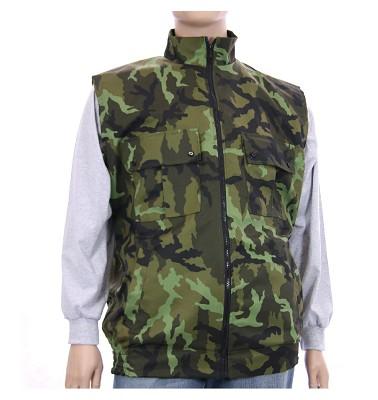 Zimná vesta NERO - maskáč zelenohnědy