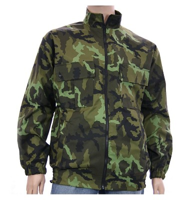 Zimná bunda NERO - maskáč zelenohnědý